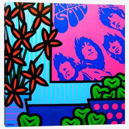 Stil Llife With The Beatles Canvas Print #JNN32} by John Nolan Canvas Art
