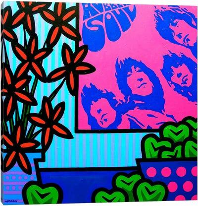 Stil Llife With The Beatles Canvas Art Print