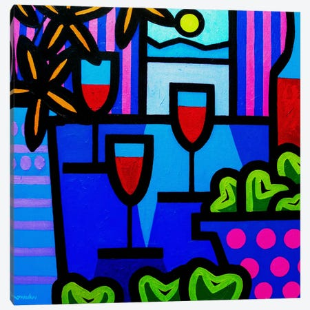 Still Life At Window Canvas Print #JNN33} by John Nolan Canvas Artwork
