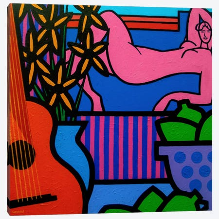Still Life With Matisse #1 Canvas Print #JNN37} by John Nolan Art Print