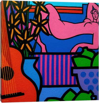 Still Life With Matisse #1 Canvas Art Print