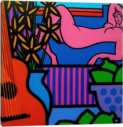 Still Life With Matisse #1 Canvas Art Print
