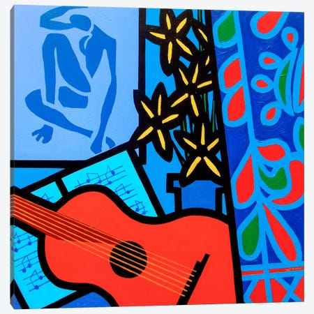 Still Life With Matisse #2 Canvas Print #JNN38} by John Nolan Canvas Art