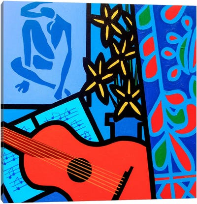 Still Life With Matisse #2 Canvas Art Print