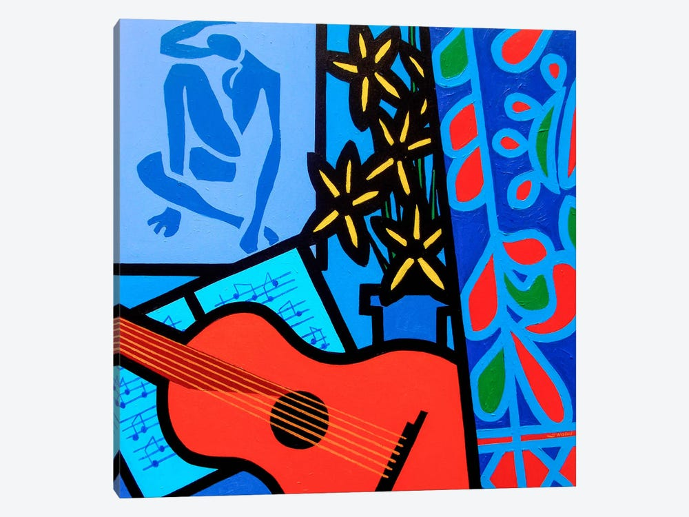 Still Life With Matisse #2 by John Nolan 1-piece Canvas Art