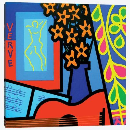 Still Life With Matisses Verve Canvas Print #JNN39} by John Nolan Canvas Wall Art
