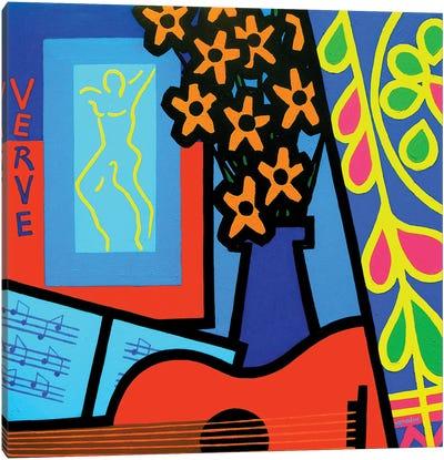 Still Life With Matisses Verve Canvas Art Print