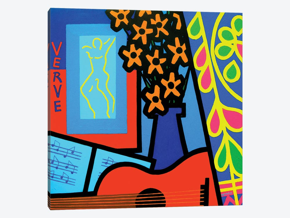 Still Life With Matisses Verve by John Nolan 1-piece Canvas Art Print