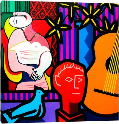 Still Life With Picassos Dream Canvas Art Print