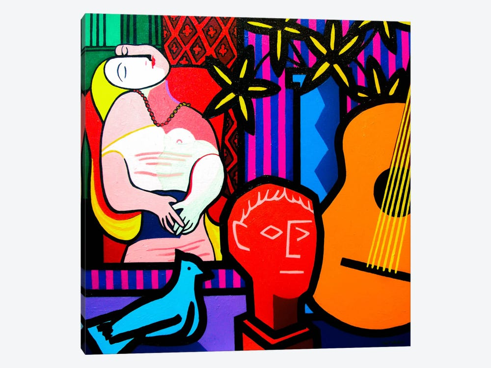 Still Life With Picassos Dream by John Nolan 1-piece Canvas Print
