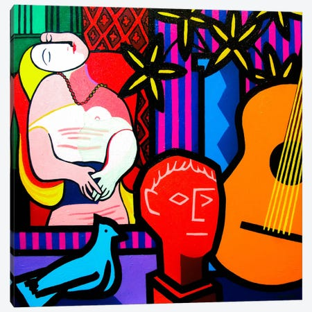 Still Life With Picassos Dream Canvas Print #JNN40} by John Nolan Canvas Print