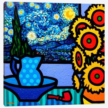 Still Life With Starry Night Canvas Print #JNN41} by John Nolan Canvas Art Print