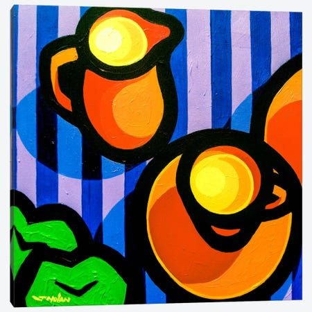 Tea And Apples Canvas Print #JNN42} by John Nolan Canvas Art Print
