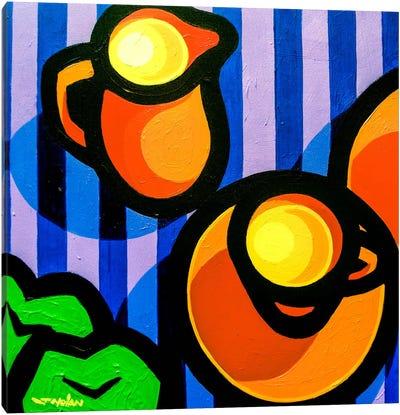 Tea And Apples Canvas Art Print