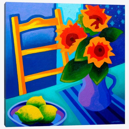 Starry Night #1 Canvas Print #JNN46} by John Nolan Canvas Artwork