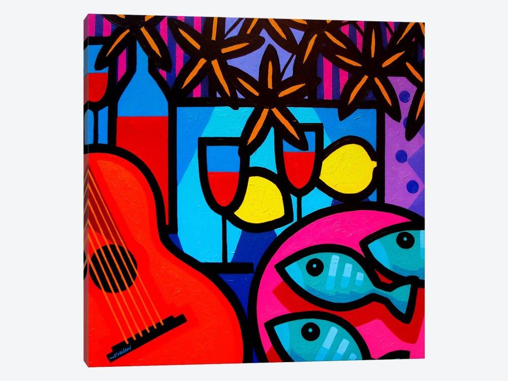 Still Life With Guitar by John Nolan 1-piece Canvas Artwork