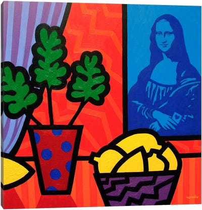 Still Life With Matisse and Mona Canvas Art Print