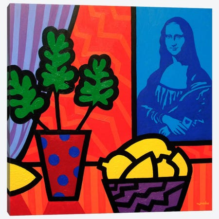 Still Life With Matisse and Mona Canvas Print #JNN49} by John Nolan Art Print