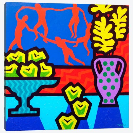 Still Life With Matisse Canvas Print #JNN50} by John Nolan Canvas Wall Art