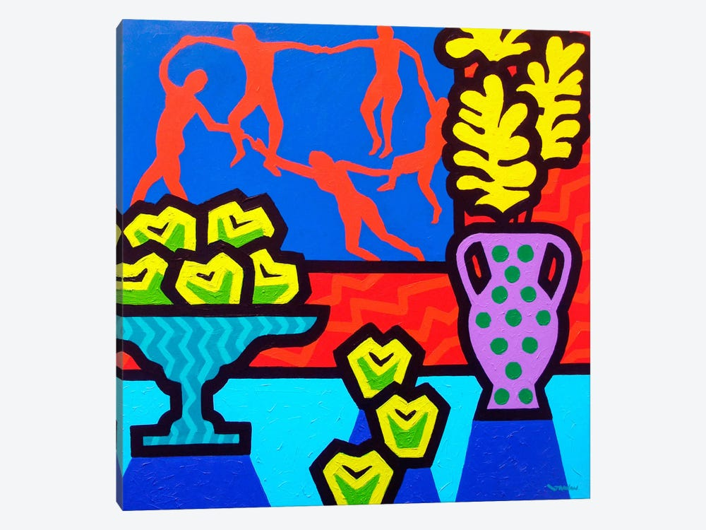 Still Life With Matisse 1-piece Canvas Wall Art