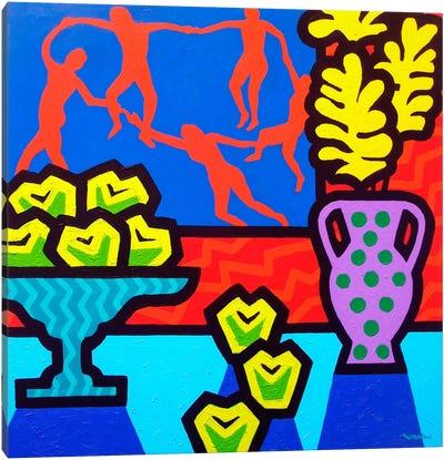 Still Life With Matisse Canvas Art Print