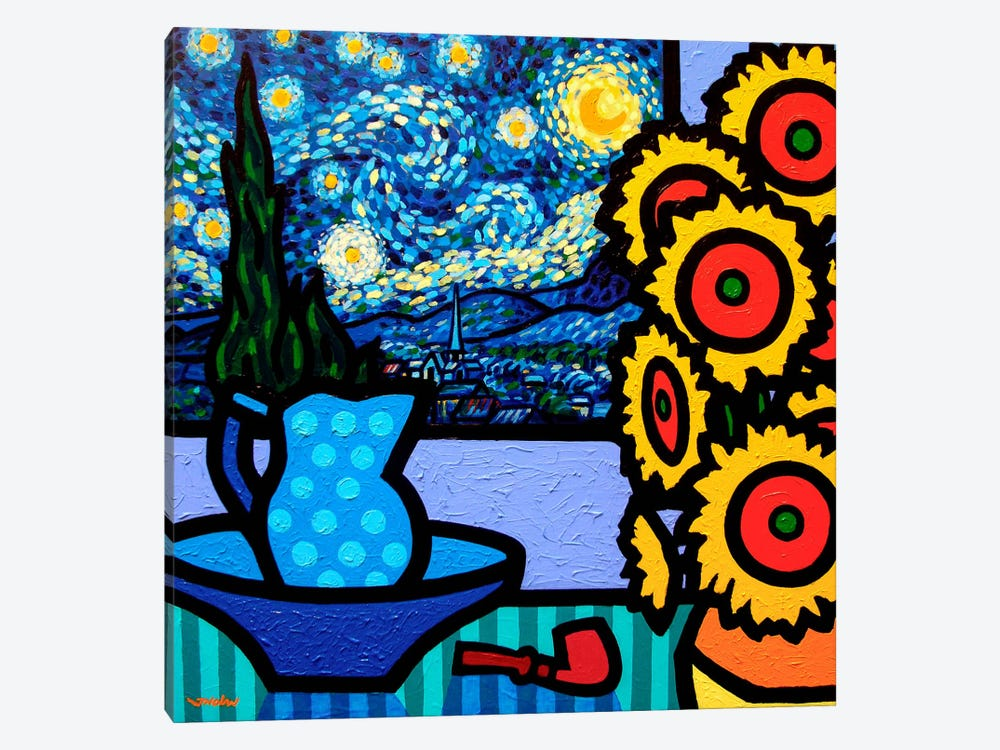 Still Life With Starry Night II by John Nolan 1-piece Canvas Artwork