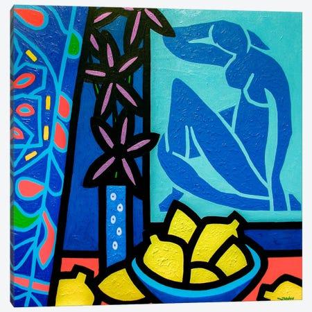 Homage To Matisse #1 Canvas Print #JNN8} by John Nolan Art Print
