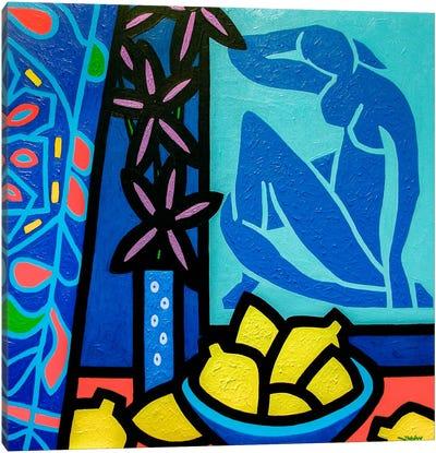 Homage To Matisse #1 Canvas Art Print