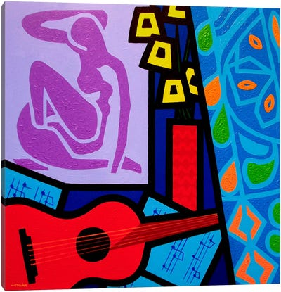 Homage To Matisse #11 Canvas Art Print