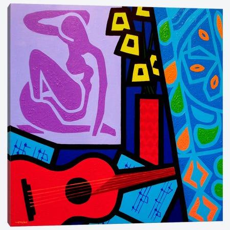 Homage To Matisse #11 Canvas Print #JNN9} by John Nolan Canvas Print