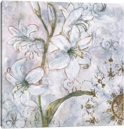 Floral Pearls I Canvas Art Print