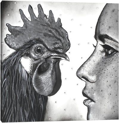 Face To Face Canvas Art Print