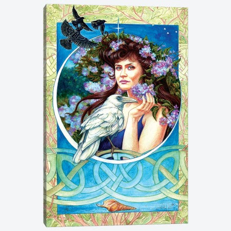 Branwen Canvas Print #JNW11} by Jane Starr Weils Canvas Art Print
