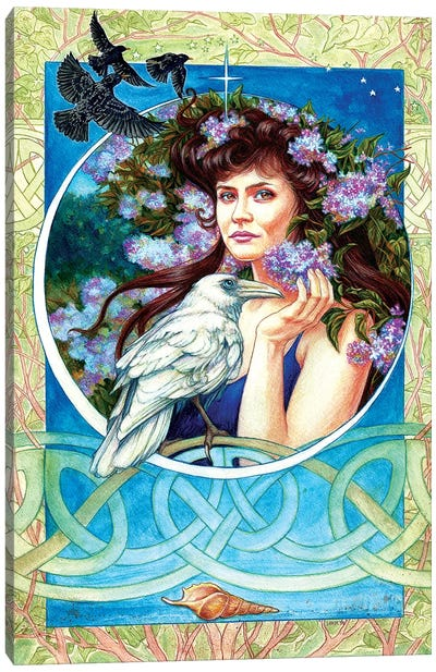 Branwen Canvas Art Print