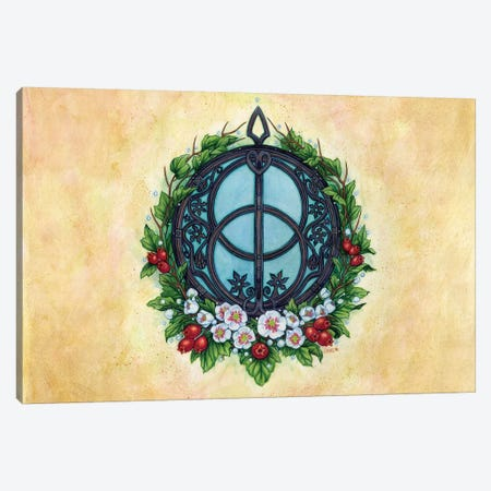 Chalise Well Canvas Print #JNW13} by Jane Starr Weils Canvas Art Print
