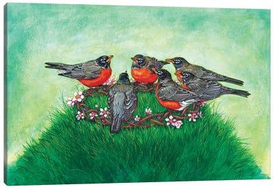 Crown Of Spring Canvas Art Print