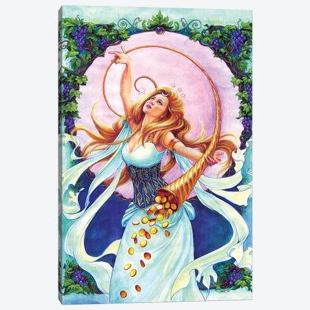 Abundantia 3-Piece Canvas #JNW1} by Jane Starr Weils Canvas Art Print