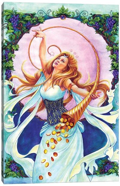 Abundantia Canvas Art Print