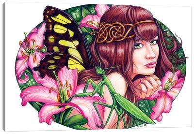 Enchanted Lilies Canvas Art Print