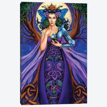 Enchantress Canvas Print #JNW21} by Jane Starr Weils Canvas Art