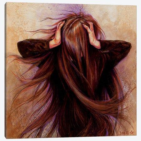 Enough Canvas Print #JNW22} by Jane Starr Weils Canvas Artwork