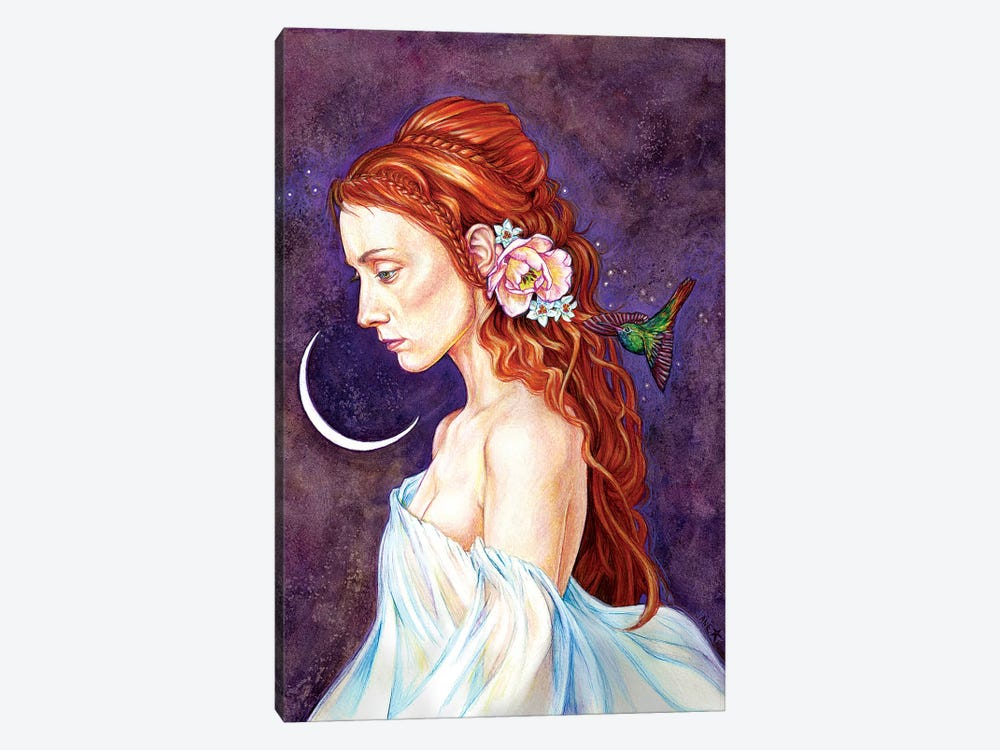 Ethereal by Jane Starr Weils 1-piece Canvas Art Print