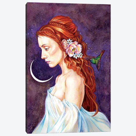 Ethereal Canvas Print #JNW23} by Jane Starr Weils Canvas Artwork