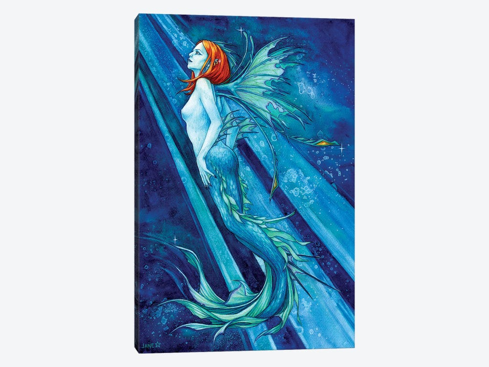 Fierce Beauty by Jane Starr Weils 1-piece Canvas Art Print
