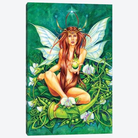 Green Pearl 3-Piece Canvas #JNW29} by Jane Starr Weils Canvas Art