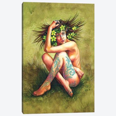 Henbane Canvas Print #JNW31} by Jane Starr Weils Canvas Art Print