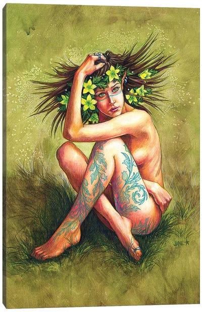 Henbane Canvas Art Print