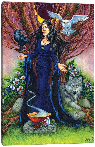 High Priestess Canvas Art Print