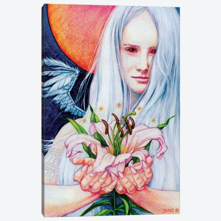 Angel Canvas Print #JNW3} by Jane Starr Weils Canvas Print