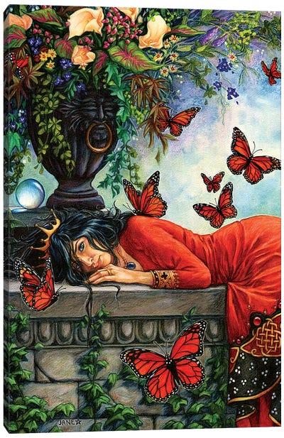 Monarch Butterfly Queen Canvas Art Print